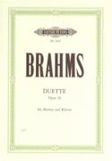 4 Duette Opus 28 Johannes Brahms Partition Duos - laflutedepan.com