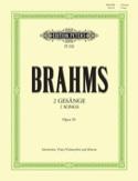 2 Gesänge Opus 91 BRAHMS Partition Alto - laflutedepan.com