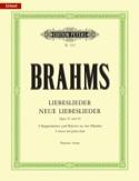 Liebeslieder und neue Liebeslieder - Opus 52 et 65 BRAHMS laflutedepan