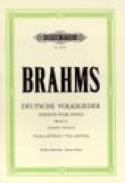 Volkslieder-Auswahl Voix Grave - Johannes Brahms - laflutedepan.com