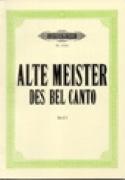 Alte Meister des Bel Canto 1. Soprano Partition laflutedepan.com