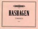 Timbres Hashagen Partition Orgue - laflutedepan.com