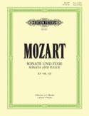 Sonate En Ré Majeur et Fugue K 448 & 426. 2 Pianos - laflutedepan.com