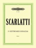 24 Sonates - Domenico Scarlatti - Partition - laflutedepan.com