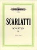 Sonates Volume 3 Domenico Scarlatti Partition laflutedepan.com