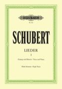 Lieder Volume 1 - Voix Haute SCHUBERT Partition laflutedepan.com