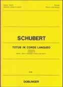 Totus In Corde Lanqueo Opus 46 SCHUBERT Partition laflutedepan.com
