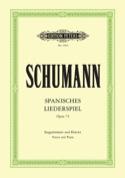 Spanisches Liederspiel Opus 74 SCHUMANN Partition laflutedepan.com