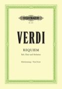 Requiem VERDI Partition Chœur - laflutedepan.com