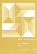 6 Duette Opus 46 TCHAIKOWSKY Partition laflutedepan.com