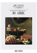 Arie Antiche Volume 1 Alessandro Parisotti Partition laflutedepan.be