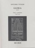 Gloria VIVALDI Partition Chœur - laflutedepan.com
