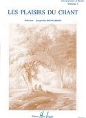 Les Plaisirs Du Chant Volume 1. Voix Moyenne / Haute laflutedepan.com