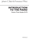 Introduction To The Piano Volume 3 Bach JC / Ricci laflutedepan.com