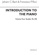 Introduction To The Piano Volume 4 Bach JC / Ricci laflutedepan.com
