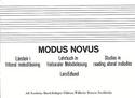 Modus Novus Lars Edlund Livre laflutedepan.com