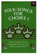 12 Folksongs For Choir Volume 1 Partition Chœur - laflutedepan.com