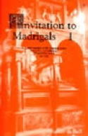 Invitation To Madrigals Volume 1 - Partition - laflutedepan.com