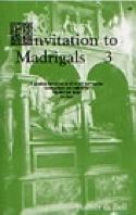 Invitation To Madrigals Volume 3 - Partition - laflutedepan.com
