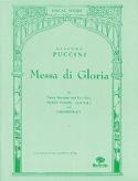 Messa di Gloria Giacomo Puccini Partition Chœur - laflutedepan.com