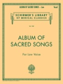 Album Of Sacred Songs. Voix Grave - Partition - laflutedepan.com