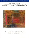 Opera Anthology : Arias Pour Mezzo Partition laflutedepan.com