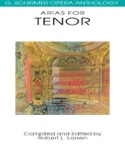 Opera Anthology : Arias Pour Ténor Partition laflutedepan.com