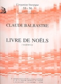 Livre de Noëls Volume 3 Claude-Bénigne Balbastre laflutedepan.com