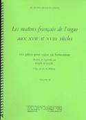 Les Maîtres Français de L'orgue Volume 2 Partition laflutedepan.com