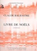 Livre de Noëls Volume 2 Claude-Bénigne Balbastre laflutedepan.com