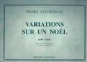 Variations Sur un Noël Pierre Cochereau Partition laflutedepan.com