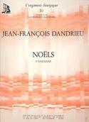 Noëls Livre 2 Jean-François Dandrieu Partition laflutedepan.com