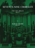 79 Chorals Opus 28 Marcel Dupré Partition Orgue - laflutedepan.com
