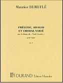 Prélude, Adagio et Choral Varié Opus 4 laflutedepan.com