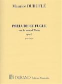 Prélude et Fugue Opus 7 sur le Nom d' Alain laflutedepan.com