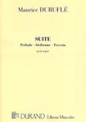 Suite Opus 5 Maurice Duruflé Partition Orgue - laflutedepan.com