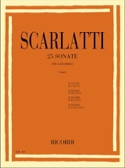25 Sonates - Domenico Scarlatti - Partition - laflutedepan.com
