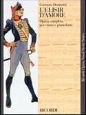 L' Elisir D'amore Gaetano Donizetti Partition laflutedepan.com