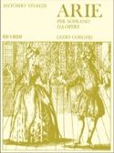 Arie Per Soprano Da Opere Antonio Vivaldi Partition laflutedepan.com