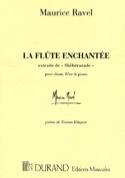 La Flûte Enchantée Maurice Ravel Partition laflutedepan.com