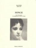 Songe Mel Bonis Partition Mélodies - laflutedepan.com