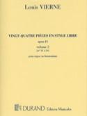 24 Pièces En Style Libre Volume 2 Opus 31 laflutedepan.com