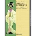 Madama Butterfly Giacomo Puccini Partition Opéras - laflutedepan.com