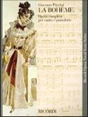 La Bohême Giacomo Puccini Partition Opéras - laflutedepan.com