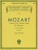 21 Airs de Concert Soprano Volume 2 - MOZART - laflutedepan.com