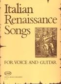 Italian Renaissance Songs Partition Guitare - laflutedepan.com