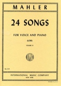 24 Songs Volume 4. Voix Grave - Gustav Mahler - laflutedepan.com