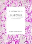 Fandango Antonio Soler Partition Clavecin - laflutedepan.com