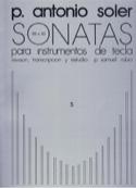 Sonates. Volume 5 - Antonio Soler - Partition - laflutedepan.com