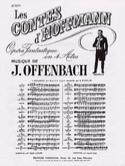 Barcarolle. Contes D'Hoffmann. n° 13 Bis laflutedepan.com